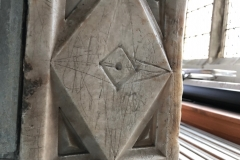 Four pointed star, diamond
