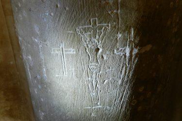 pilgrims crucifixion
