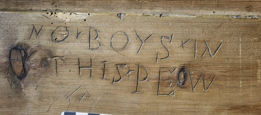 Pew and Choir Stall Graffiti from Kent and a little from elsewhere