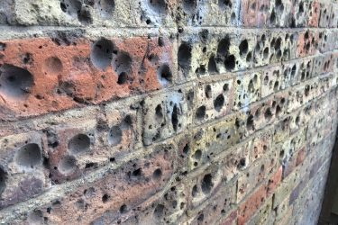 Coin graffiti, Walthamstow, London