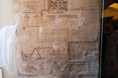 Prisoner graffiti, Tower of London
